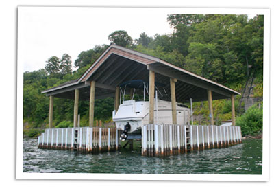 how to build a boat lift plans